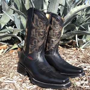 Rodeo Black | Work Sole - 100% Leather! ROMÁN BOOTS!! Delivery Service Included!!! for Sale in San Antonio, TX