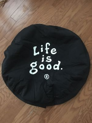 """Spare Tire Cover """"Life is Good"""" for Sale in Apex, NC"""