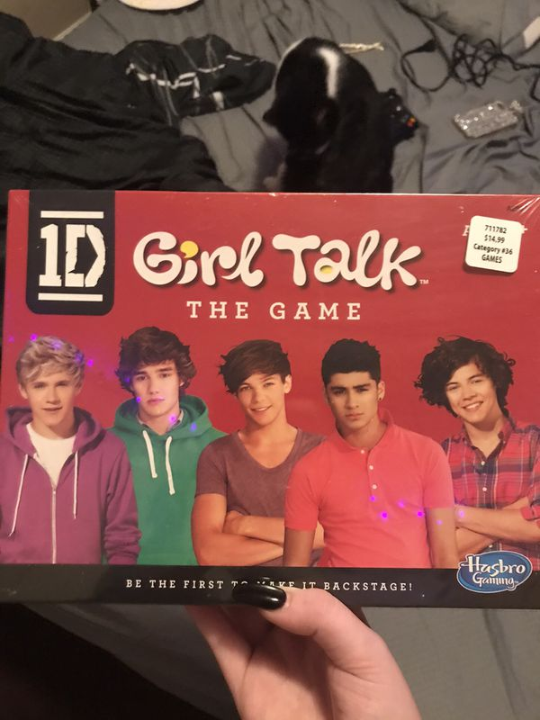 """One direction """"girl talk"""" game"""