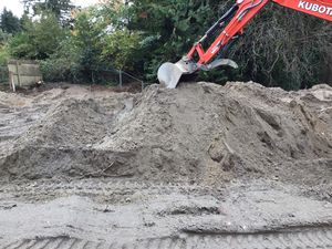 Free dirt/sand filler. Just bring a truck I can fill it for Sale in Everett, WA
