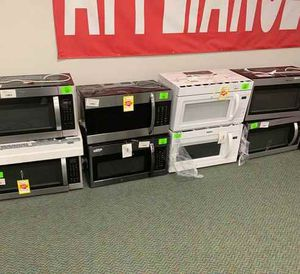 BRAND NEW OVERHEAD MICROWAVES WITH WARRANTY F for Sale in Norwalk, CA