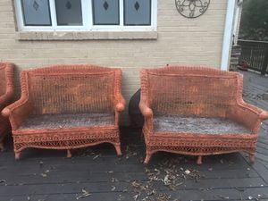 Outdoor Wicker Conversation set for Sale in Decatur, GA