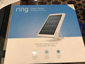 (3) Ring solar panel for spotlight cam battery and stick up can battery for Sale in Los Angeles, CA