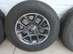 """18"""" Wheels And Firestone Dueller H/T Tires For Jeep Gladiator/Wrangler for Sale in Montclair, CA"""