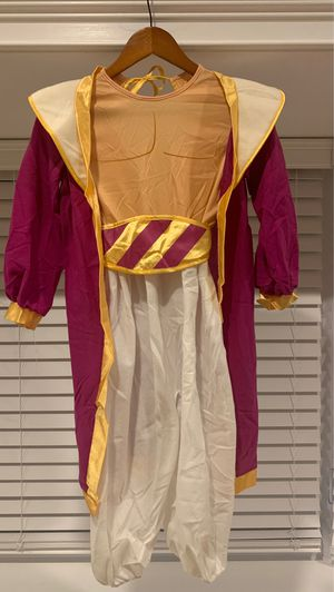 Disney Aladdin costume for kids w/ accessories size 7-10 for Sale in Englewood, NJ