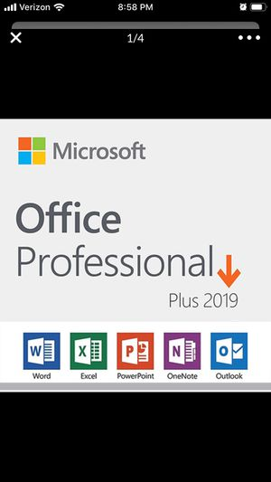 MICROSOFT OFFICE PROFESIONAL PLUS 2019 ($10.00) PER LICENSE for Sale in Los Angeles, CA