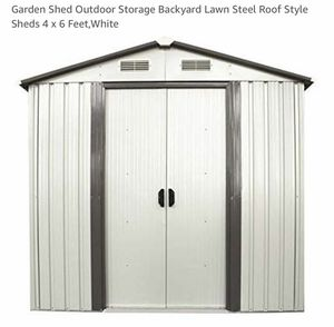 Garden Shed BRAND NEW still in unopened boxes!! for Sale in Billerica, MA