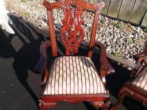 antique doll chair set for Sale in Indianapolis, IN