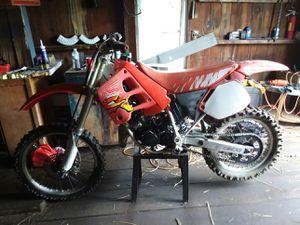 1991 honda cr125r 2 stroke dirtbike for Sale in Clarksburg, WV