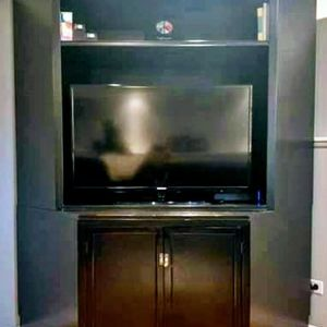 Pottery Barn Corner Tv Stand for Sale in Oswego, IL