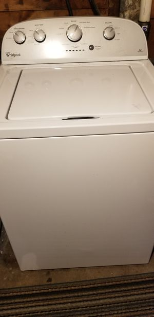 Whirlpool high efficiency washer for Sale in East Haven, CT