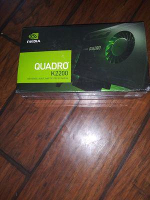 Quadro K2200 for Sale in Pasadena, TX