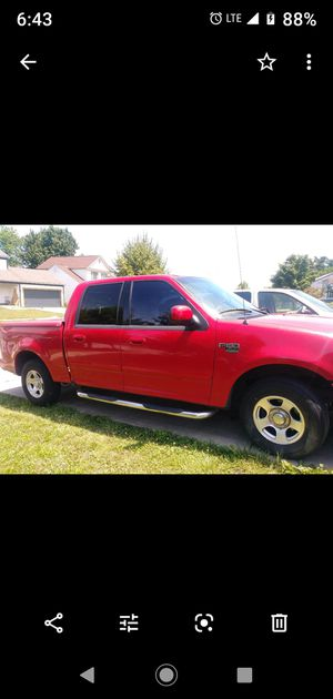 2002 f150 supercrew v8 duels TRADE ONLY for Sale in Columbus, OH