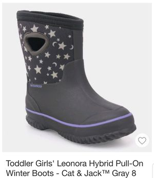 Toddler snow boot size 6 and 12 for Sale in St. Cloud, MN