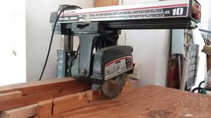 Sears Craftsman Radial arm saw for Sale in Weldon Spring, MO