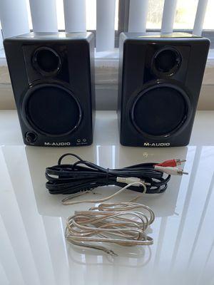 M-Audio AV-30 Studio Monitor Pair for Sale in Silver Spring, MD