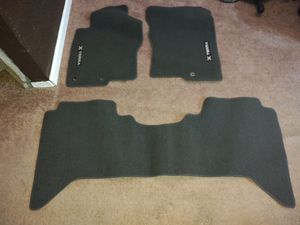 Like new gray Nissan Xterra carpeted floormats for Sale in Denver, CO
