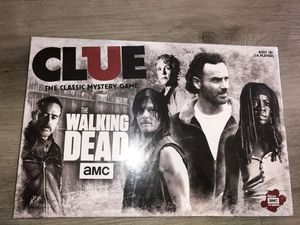 USAopoly AMC The Walking Dead Edition Clue Classic Mystery Board Game NEW for Sale in Las Vegas, NV
