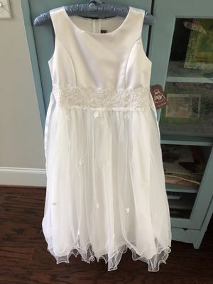 Flower girl/First Communion dress girls size 13/14 for Sale in Clayton, NC