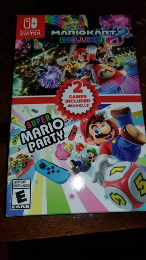 Mario party and Mario kart for Sale in Huntington Beach, CA