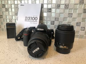 NIKON DSLR Camera D3100 for Sale in San Leandro, CA