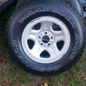 Good Year Wrangler Tire And Rim for Sale in East Petersburg, PA