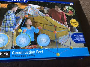 Discovery Kids Construction Fort Build and Play Set for Sale in Venice, FL