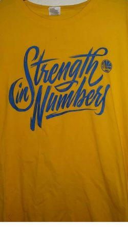 Golden State Warriors 2018 Conference Finals Strength In Numbers T-Shirt. Size: XL for Sale in Elk Grove,  CA
