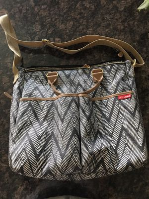 Skip Hop Zig Zag Zebra Diaper Bag for Sale in Goodyear, AZ
