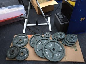 Olympic weights 285 Lbs for Sale in Virginia Beach, VA