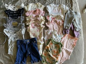 Lot newborn NB baby girl clothes for Sale in Sunnyvale, TX