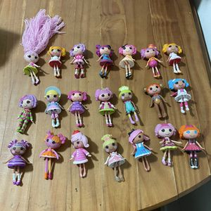 LALALOOPSY MINI DOLL LOT OF 21 for Sale in San Leandro, CA