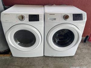 Washer and dryer brand new scratch and dents warranty for Sale in Miami, FL