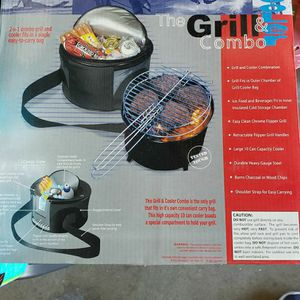Grill & Cooler Combo for Sale in Whittier, CA
