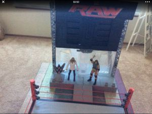 In AMAZING Condition! WWE ELECTRONIC ULTIMATE ENTRANCE STAGE. First come first served. ( wrestling figures are not included) for Sale in University Place, WA