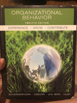 Organizational behavior 12th edition for Sale in Montebello, CA