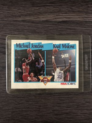 Jordan/Malone vintage collectible card for Sale in Los Angeles, CA
