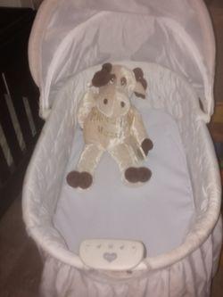 Baby Girls Are Baby Boys 1st Bassinet for Sale in Stockbridge,  GA