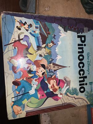 Pinocchio record player / pop up book for Sale in Torrance, CA