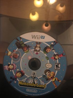 Nintendo Wii U Nintendo land for Sale in Visalia, CA