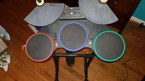 Rock band drum set for xbox 360 O.B.O for Sale in Rockville, MD