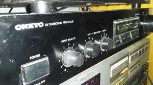 Onkyo 120 watt surround amplifier for Sale in Chicago, IL