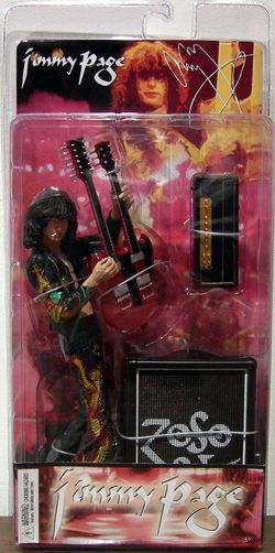 NECA Led Zeppelin Jimmy Page Action Figure for Sale in Lake Stevens,  WA