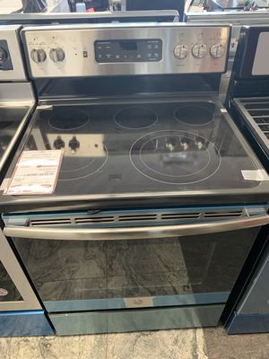 On Sale GE Electric Stove Oven 5 Burner Glass Top #1312 for Sale in Cold Spring Harbor, NY