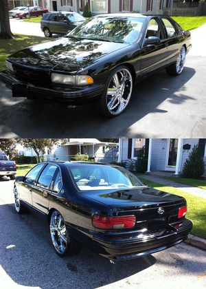 black 96 Chevy Impala for Sale in Tampa, FL