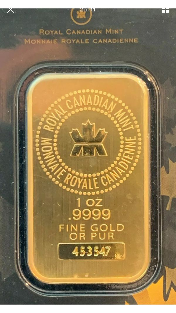 One ounce pure gold 24k