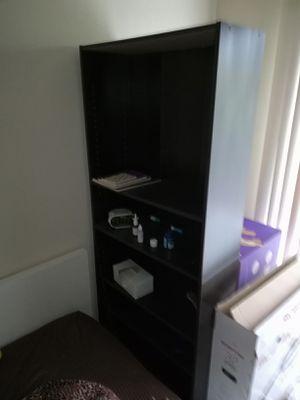 Free 2 bookshelves 6 feet high for Sale in Belmont, CA