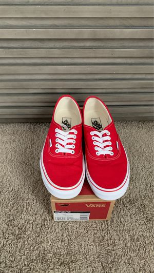 Vans Authentic Red for Sale in Haines City, FL
