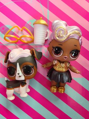 Lol doll Glam Glitter DJ and pet for Sale in Gilbert, AZ