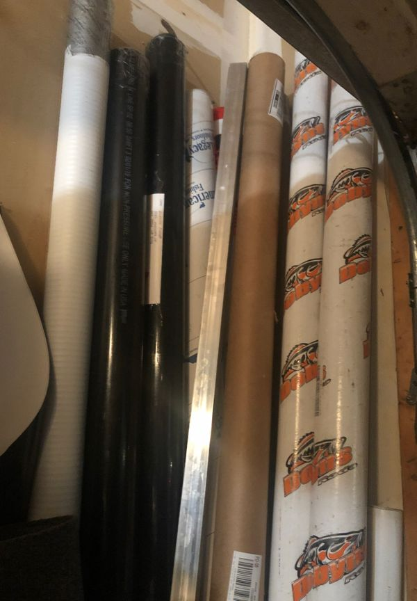 Rod shipping tubes